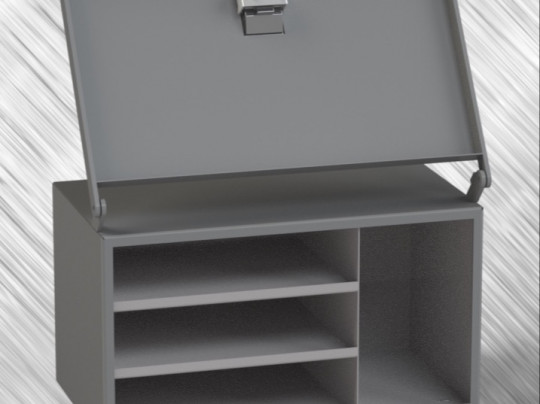 Fendt 828 SCR Side Toolbox