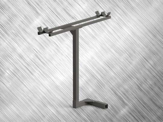 Fendt 800 SCR Series  -side pipe mounting Bracket