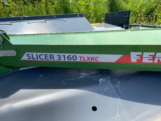 FENDT SLICER 3160 TLXKC MOWER CONDITIONER